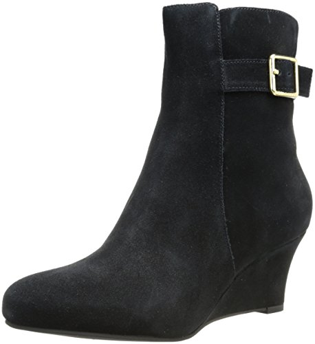 Cole Haan Women's Aimee Short Waterproof Boot,Black Suede Waterproof,9 B US