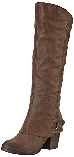 Fergalicious Women's Lexy Western Boot,TAUPE , 8 M US