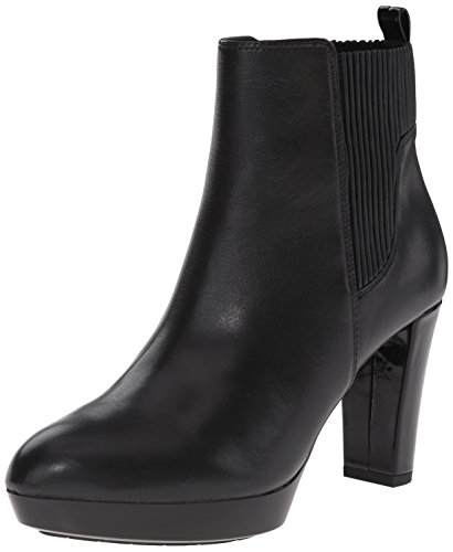 Donald J Pliner Women's Edina-06 Boot, Black Calfskin, 7 M US