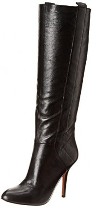 Nine West Women's Inga Riding Boot,Black,7 M US