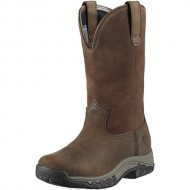 Ariat Women's Terrain H2o Pull-On Boot Round Toe Distressed 10 M US
