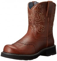 Ariat Women's Fatbaby Saddle Western Boot,  Russet Rebel,  9 B US