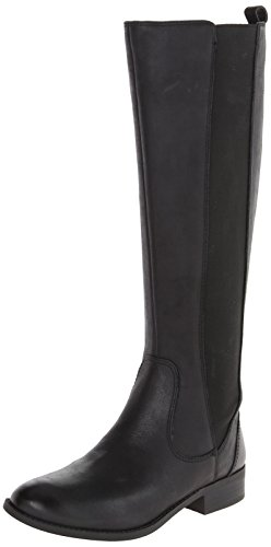 Jessica Simpson Women's Radforde Riding Boot, Black, 7 M US