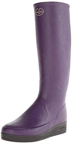 Le Chameau Footwear Women's Paris LD Jersey Boot, Violet, 41 EU/9 M US