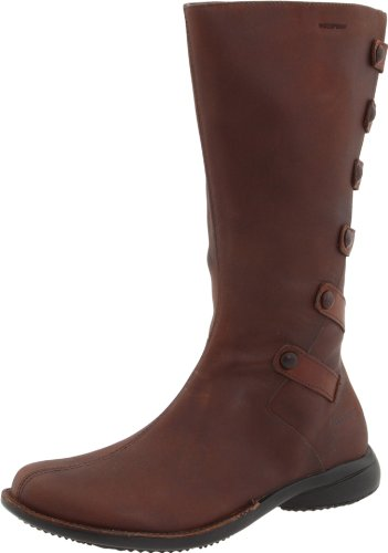 Merrell Women's Tetra Launch Waterproof Boot,Cherry Brown,9.5 M US