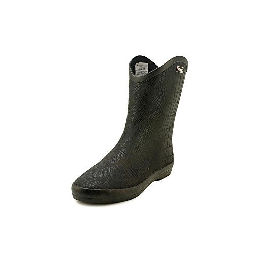 Pajar Women's Rena Low Rain Boot,Black Crocodile,38 EU/7-7.5 M US