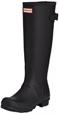 Hunter Womens Original Back Adjustable Rain Boot