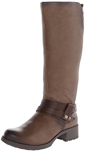 Earth Women's Sequoia Riding Boot,Taupe Tumbled Leather,7 M US