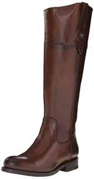 FRYE Women's Jayden Button Tall-SMVLE Riding Boot,  Redwood, 9 M US