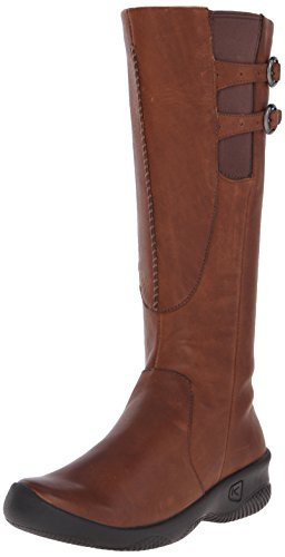 KEEN Women's Bern Baby Bern Casual Boot,Oak,6.5 M US