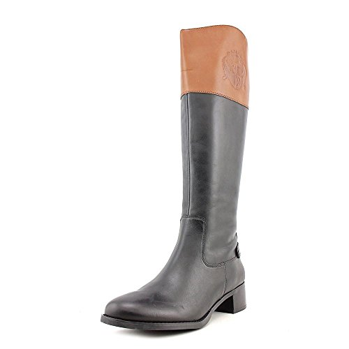 Franco Sarto Chipper Womens Size 8.5 Brown Leather Fashion Knee-High Boots