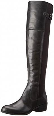 Sam Edelman Women's Jacob Riding Boot, Black, 8.5 M US