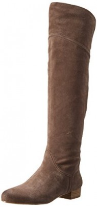 Enzo Angiolini Women's Malaci Riding Boot, Taupe, 6 M US
