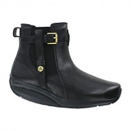 Women's MBT Women's Kisiwa Chelsea 2 Black Full Grain Leather 35 Medium