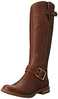 Timberland Women's Savin Hill Tall Boot,Tobacco Forty,8 W US