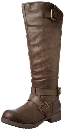 Madden Girl Women's Legacie Boot,Brown Paris,6.5 M US