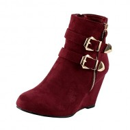 West Blvd Amman Ankle Wedges Boots