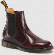 Dr. Martens Women's Flora Ankle Boot,Burgundy,5 UK/7 M US