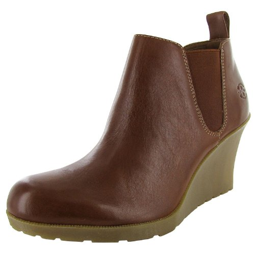 Dr. Martens Women's Nettie Chelsea Boot, Brown, 8 UK (US Women's 10 M)