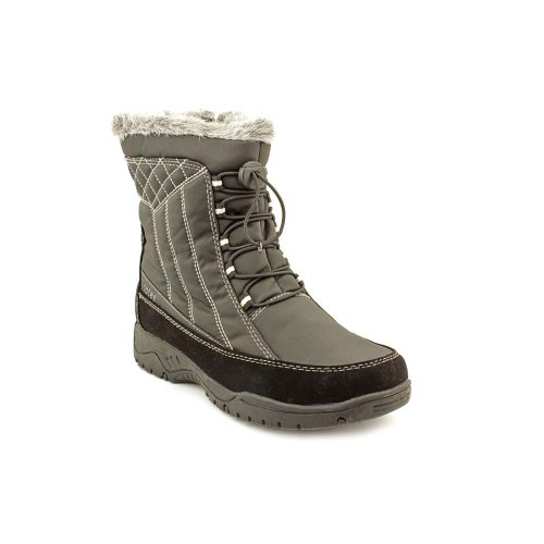 Totes Womens Eve Cold Weather Winter Boots,Black,7