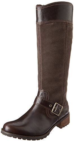 Timberland Women's EK Bethel Tall Harness Boot,Brown,7 M US
