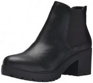 Steve Madden Women's Romman Boot, Black, 8.5 M US