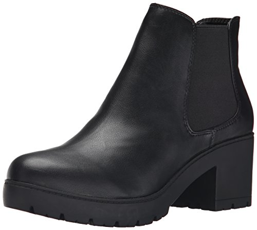 Steve Madden Women's Romman Boot, Black, 8.5 M US