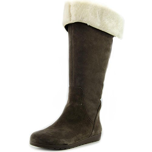 Nine West Women's Daring Knee High Boot,Dark Grey,10 M US