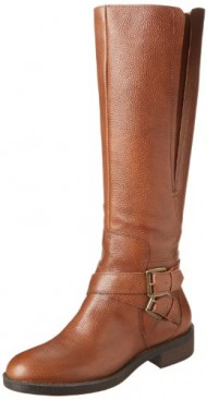 Enzo Angiolini Women's Sporty Harness Boot,Cognac,6.5 M US