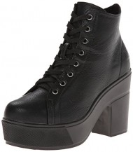 Dirty Laundry Women's Campus Queen New Boot, Black, 7.5 M US