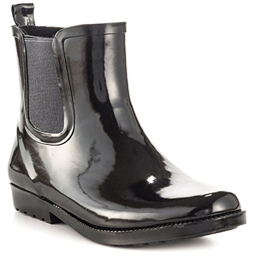 Aldo Women's Crian Rain Boot, Black, 37 EU/6.5 B US