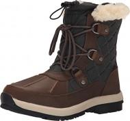 BEARPAW Women's Bethany Winter Boot, Chocolate, 8 M US