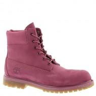 Timberland TB08260B661 Women's 6-in Premium Boot Violet Quartz Nubuck 7.5 M US