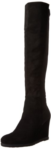 Stuart Weitzman Women's Demiswoon Boot,Black,10 M US