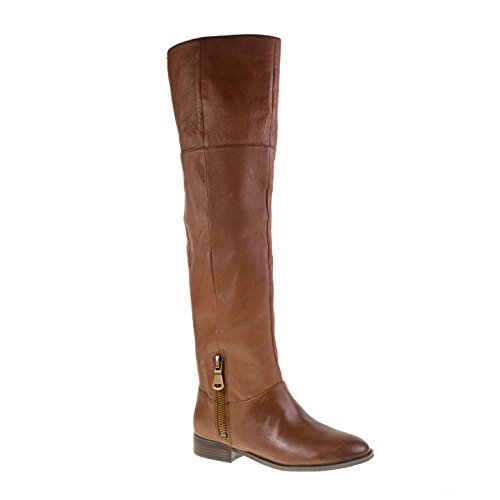 Chinese Laundry Women's Fawn Leather Riding Boot,Brown,5.5 M US