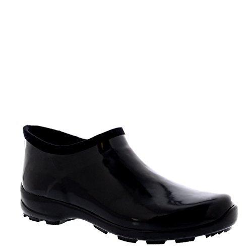 Womens Rubber Gloss Welly Shoes Garden Rain Snow Wellington Boots