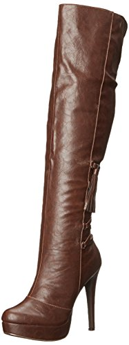 Penny Loves Kenny Women's Opera Slouch Boot, Brown Matte, 6 M US