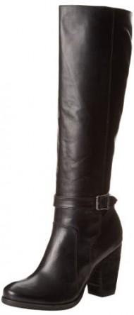 FRYE Women's Patty Tall Riding Boot, Black, 8.5 M US