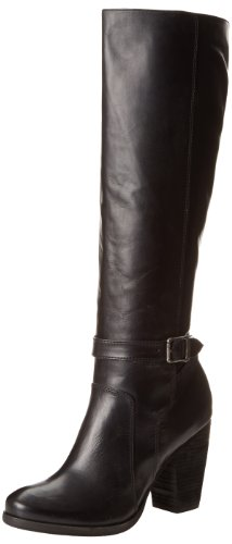 FRYE Women's Patty Tall Riding Boot, Black, 8.5 M US