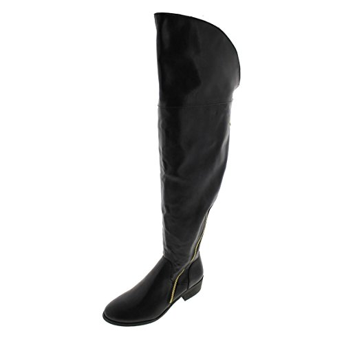 Report Signature Women's Gwyn Knee-High Boot,Black,9 M US