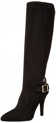 BCBGeneration Women's BG Eileen Slouch Boot, Black, 7.5 M US