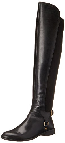 Franco Sarto Women's Mast Harness Boot, Black, 11 M US
