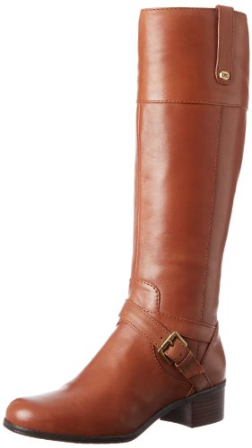 Bandolino Women's Countless Riding Boot,Cognac,10.5 M US