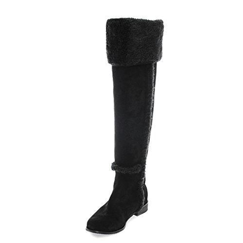 BCBG Max Azria Dorota Womens Over Knee Suede Knee High Boots Shoes 6.5