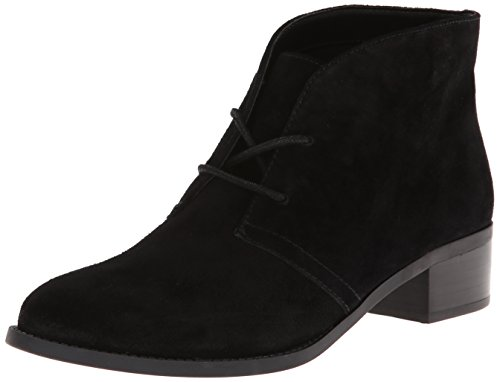 Circa Joan & David Women's Buzzy Chukka Boot,Black,8 M US