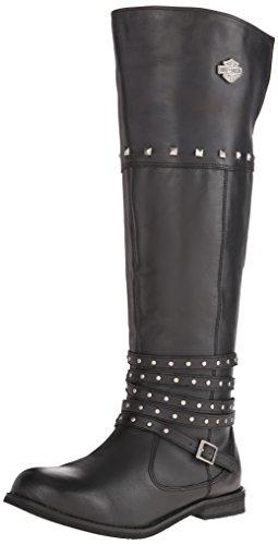 Harley-Davidson Women's Keely Work Boot, Black, 8 M US