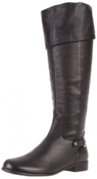 Ros Hommerson Women's Topic 41347 Boot,Black Leather,7.5 WW US