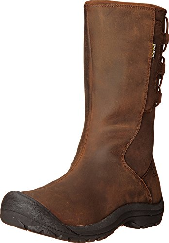 KEEN Women's Winthrop II WP Boot, Tortoise Shell, 7 M US