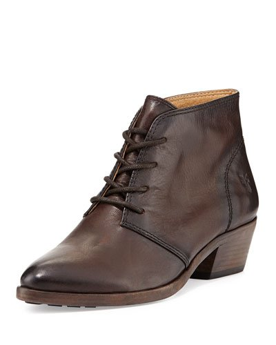 FRYE RUBY CHUKKA-SMVLE 75692 DARK BROWN WMNS US 6.5