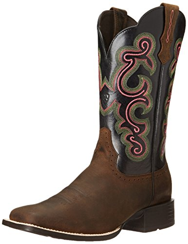 Ariat Women's Quickdraw Boot,Distressed Brown/Black,10 M US
